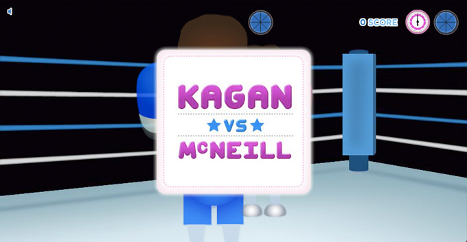 Kagan vs McNeill Boxing